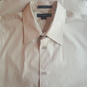 Express Cotton Stretch Dress Shirt